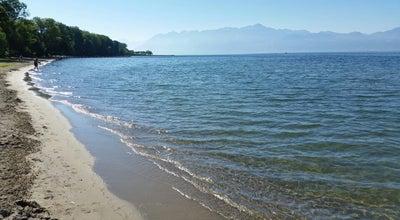 Photo of Lake Bains public de Vidy at Switzerland
