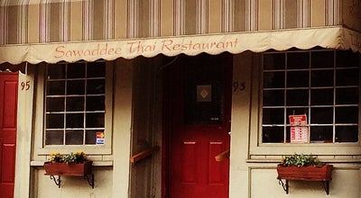 Photo of Thai Restaurant Sawaddee at 93 Hope St, Providence, RI 02906, United States