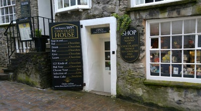 Photo of Cafe The Famous 1657 Chocolate House at 54 Branthwaite Brow, Kendal LA9 4TX, United Kingdom
