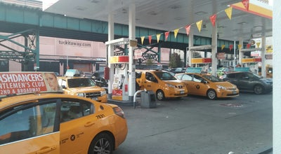 Photo of Gas Station / Garage Shell at 3260 Broadway, New York, NY 10027, United States