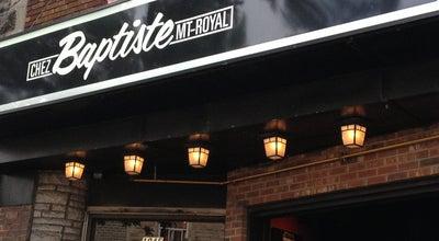 Photo of Bar Chez Baptiste at 1045, Ave. Du Mont-royal Est, Montréal, QC H2J 1X7, Canada