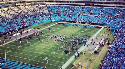 Photo of Football Stadium Bank of America Stadium at 800 S. Mint St., Charlotte, NC 28202, United States
