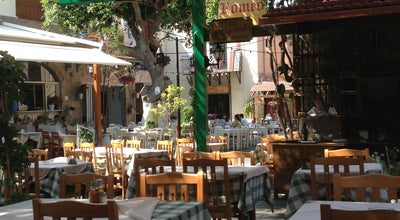 Photo of Greek Restaurant Romeo Garden at Μενεκλέους 7-9, Rhodes 851 00, Greece