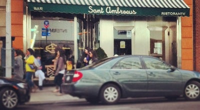 Photo of Italian Restaurant Sant Ambroeus at 1000 Madison Ave, New York, NY 10075, United States