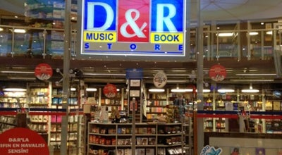 Photo of Bookstore D&R at Optimum Outlet, İstanbul 34746, Turkey