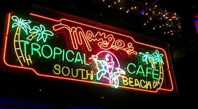 Photo of Nightclub Mango's Tropical Cafe at 900 Ocean Dr, Miami Beach, FL 33139, United States
