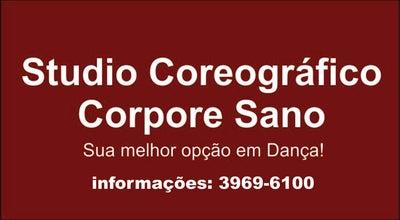 Photo of Dance Studio Studio Coreográfico Corpore Sano at R. Álvares De Azevedo, 286, Santo André 09020-140, Brazil