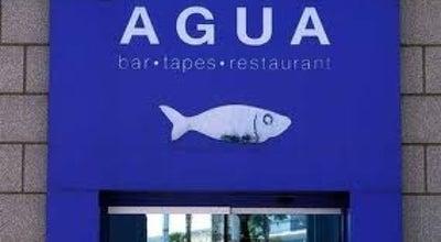 Photo of Spanish Restaurant Restaurant Agua at Passeig Marítim De La Barceloneta 30, Barcelona 08003, Spain