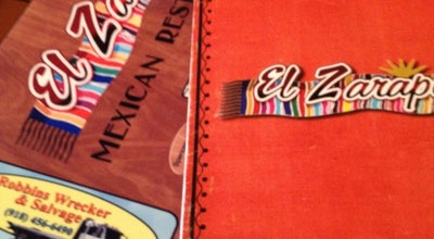 Photo of Mexican Restaurant El Zarape Mexican Restaurant at 701 E Downing St, Tahlequah, OK 74464, United States