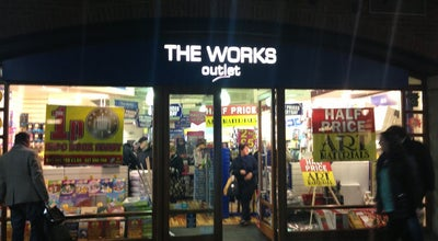 Photo of Bookstore The Works Outlet at Portsmouth PO1 3TN, United Kingdom