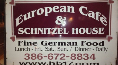 Photo of German Restaurant European Cafe & Schnitzel House at 210 S Atlantic Ave, Ormond Beach, FL 32176, United States