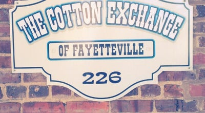 Photo of Antique Shop The Cotton Exchange at 226 Donaldson St, Fayetteville, NC 28301, United States