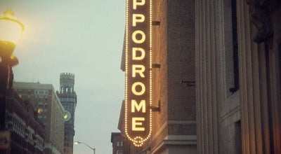 Photo of Theater The Hippodrome Theatre at the France-Merrick Performing Arts Center at 12 N Eutaw St, Baltimore, MD 21201, United States