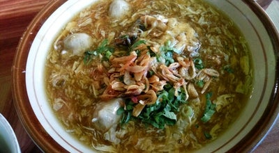 Photo of Ramen / Noodle House :: Mie Baso & Lomie ULIL :: at Jl. Raya Sadananya, Ciamis, Indonesia
