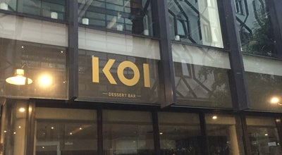 Photo of Dessert Shop Koi Dessert Bar at 42-44 Kensington St., Chippendale, Ne 2008, Australia