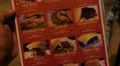 Photo of Burger Joint Rawang Burger Bakar (RBB) at Bukit Beruang, Malaysia