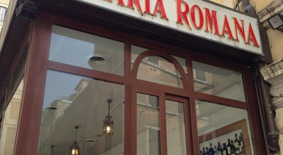 Photo of Italian Restaurant Hostaria Romana at Via Del Boccaccio, 1, Roma 00187, Italy