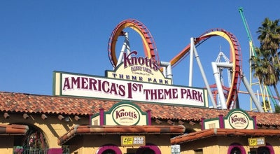 Photo of Theme Park Knott's Berry Farm at 8039 Beach Blvd, Buena Park, CA 90620, United States