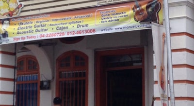 Photo of Music Venue Manuel ukulele at 70 Lorong Kinta, Georgetown, 10400 George Town, Penang, George Town 10400, Malaysia