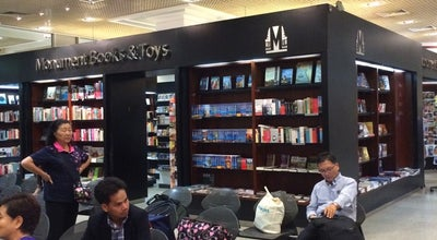 Photo of Bookstore Monument Books & Toys at Phnom Penh International Airport, Cambodia