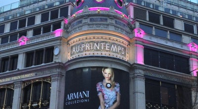 Photo of Department Store Printemps Haussmann at 64 Boulevard Haussmann, Paris 75009, France