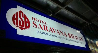 Photo of Vegetarian / Vegan Restaurant Hotel Saravana Bhavan at 9 & 10 Platform, Chennai Central Railway Stn., Chennai 600006, India