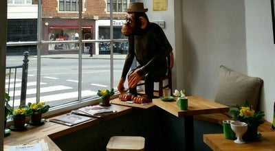 Photo of Coffee Shop Kensington Coffee at 45 Kensington Church Street, London W8, United Kingdom