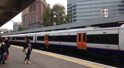 Photo of Train Station West Croydon London Overground Station at London Rd., Croydon CR0 2TA, United Kingdom