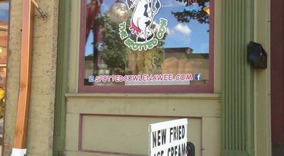 Photo of Ice Cream Shop The Spotted Cow at 110 W Chicago Blvd, Tecumseh, MI 49286, United States