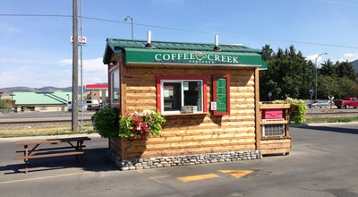 Photo of Coffee Shop Coffee Creek Drive Thru Espresso at 2050 Park St S, Livingston, MT 59047, United States