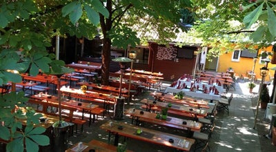 "Photo of Beer Garden das ""Mo"" - Neue Galerie at Bergbräustr. 7, Ingolstadt 85049, Germany"