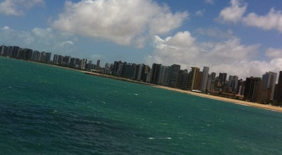 Photo of Beach Praia de Iracema at Avenida Beira Mar, Fortaleza, Brazil