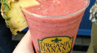 Photo of Juice Bar Organic Banana at 1100 N Peters St, New Orleans, LA 70116, United States