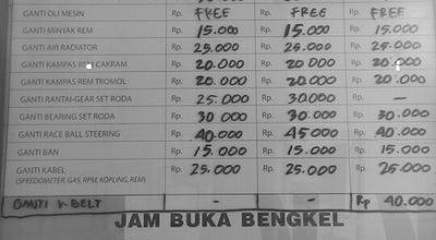 Photo of Motorcycle Shop Yamaha Service Galunggung at Jalan Galunggung, Malang, Indonesia