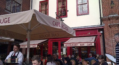 Photo of French Restaurant Café Rouge at Canterbury CT1 2JS, United Kingdom