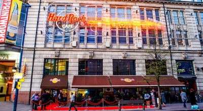Photo of American Restaurant Hard Rock Cafe Manchester at Exchange Square, Manchester M4 2BS, United Kingdom