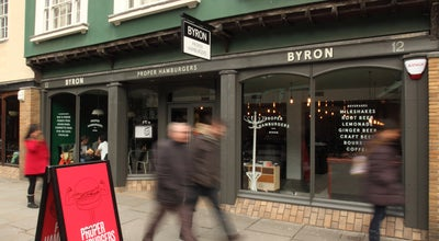 Photo of Burger Joint Byron at 12 Bridge Street, Cambridge CB2 1UF, United Kingdom