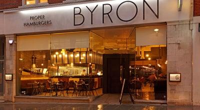 Photo of Burger Joint Byron at 26 Cowcross St, London EC1M 6DQ, United Kingdom