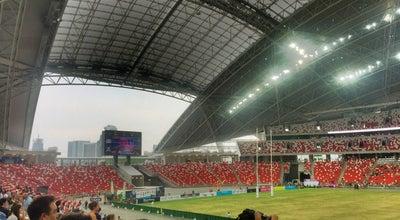 Photo of Stadium Singapore Sports Hub at Kallang, Singapore 397629, Singapore