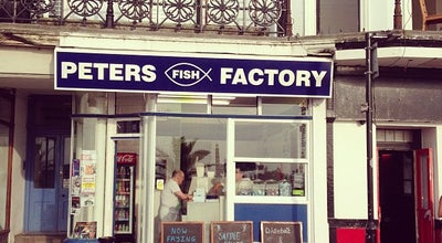 Photo of Fish and Chips Shop Peter's Fish Factory at 12 The Parade, Margate CT9 1EZ, United Kingdom