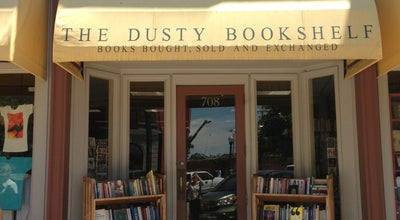 Photo of Bookstore Dusty Bookshelf at 708 Massachusetts St, Lawrence, KS 66044, United States