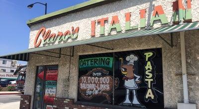 Photo of Italian Restaurant Claro's Italian Market at 1003 E Valley Blvd, San Gabriel, CA 91776, United States