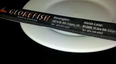 Photo of Sushi Restaurant Globefish at 332 14 St. Nw, Calgary, AB, Canada