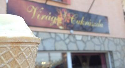 Photo of Cupcake Shop Virág Cukrászda at Iparos U. 59., Érd 2030, Hungary