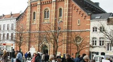 Photo of Church Église Notre Dame Immaculée / Onze-Lieve-Vrouw Onbevlekt Ontvangen-kerk at Vossenplein 1 Place Du Jeu De Balle, Brussels 1000, Belgium