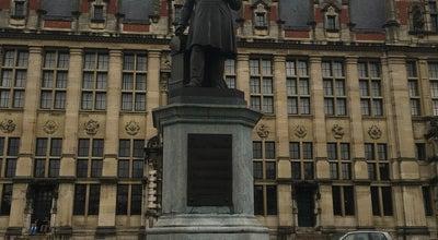 Photo of Monument / Landmark Statue de Pierre-Théodore Verhaegen at Université Libre De Bruxelles - Campus Du Solbosch (ulb), Ixelles / Elsene 1050, Belgium