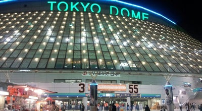 Photo of Baseball Stadium 東京ドーム (Tokyo Dome) at 後楽1-3-61, 文京区 112-8575, Japan