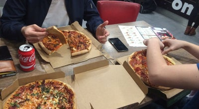 Photo of Pizza Place Pizza Domino's at Waterpoort 2, Kortrijk 8510, Belgium