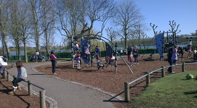 Photo of Playground Willen Lake Play Area at Willen Lake, Milton Keynes, United Kingdom