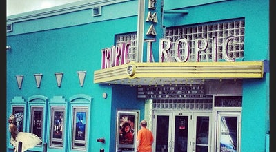 Photo of Indie Movie Theater Tropic Cinema at 416 Eaton St, Key West, FL 33040, United States